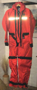 Mustang MS 195 Survival Flotation Suit - Size Medium. Never Used