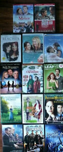 LOT 20+ DVD TV Series, Passion of Christ, BEACHES The JUDGE etc.