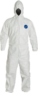 New pack of 6 XL Tyvek coveralls