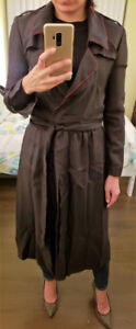 Sale! Silk 100% Authentic Burberry Trench Dress Size US 2