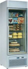TORNADO ISA COMMERCIAL DISPLAY FREEZER IN EXCELLENT CONDITION