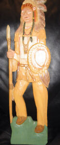 WOOD CARVINGS Wall Plaques & figures $3-$60  Native American $40