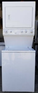 Kenmore Large Capacity Stacked Washer Dryer, 12 month warranty