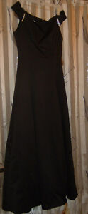 Black Evening or Grad Dress-full length Downtown-West End Greater Vancouver Area image 5