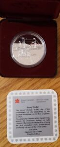 Canadian Proof  Silver Dollars 1990, 1991