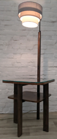 1950's Walnut Lamp Table (DELIVERY AVAILABLE)