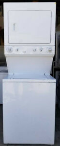 Kenmore Large Capacity Stacked Washer Dryer, 1 year warranty