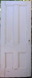DOORS - Two, early, panelled