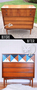 Furniture refurbishing