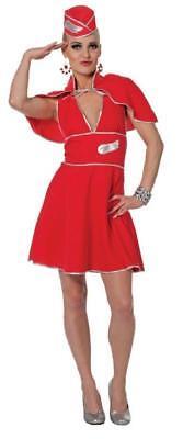 Flugkapitän Kostüme (Flugbegleiterin Stewardess Pilot Pilotin Flugkapitän Uniform Kostüm Kleid Rock)
