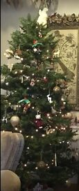 6ft Artificial Christmas Tree very Full Looking