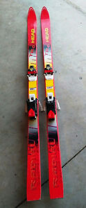 160cm Downhill Ski's with Bindings