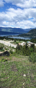 BUILD LOOKING OVER BLIND BAY, BC!