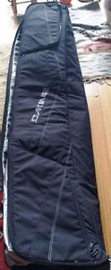 Price reduced: Dakine double ski padded bag with rollers