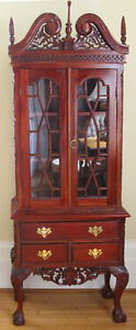 Reproduction Chippendale Cabinet