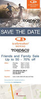 Friends and Family Sale - Icebreaker, Toad&Co., and more
