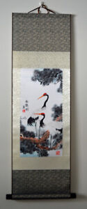Chinese classic paintings on silk