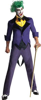 Adult Joker Costume Super Villain DC Comics Adult Size - Comic Joker Costume