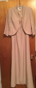 NEW LADIES GOWN with JACKET - SIZE 8 - Avanti Designs
