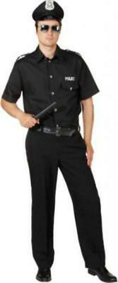 Polizist Polizei Kostüm Uniform Anzug Herren Polizeikostüm FBI SWAT Police