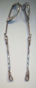 Western Bridle + Reins 2 Ear Silver Set Saddles + Tack For Sale London Ontario image 8