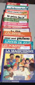 livres d'enfants Courte échelle caillou  Barney princesse  Dora