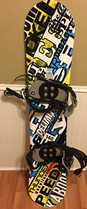 Firefly Snowboard and bindings for sale