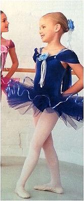 Für Erwachsene, Großes Neu Blau Rosetta Ballett Tutu Tanzkostüm