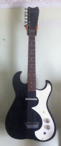 60's vintage Silvertone 1448 guitar made in USA