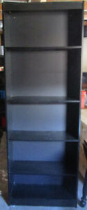 Black bookcase 4 sale