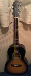 Fender CP100 small body acoustic guitar