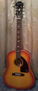 Epiphone Inspired by1964 Texan vintage cherry acoustic electric