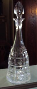 Antique Crystal Wine Decanter for your Christmas Bar and table.