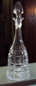 Antique Crystal Alcohol Decanter