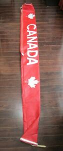 Canadian Maple Leaf Ski Carrying Case.