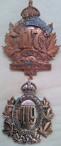 Very Rare WWI Militaria, CEF Badges Cornwall Ontario image 6