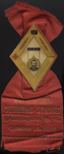 GAR * 1903 WASHINGTON, D.C.~ SHERMAN MONUMENT DEDICATION ~ CELLULOID