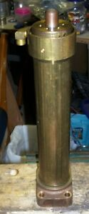 "Hydrolic Cylinder BRASS 3/4"" X 10"" 2/way $40.00 OBO"