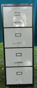 Filing Cabinet 4 drawers (Legal size)