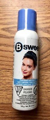 New B Sweet Temporary Hair Color Misty Blue Spray On Wash Out 3.5 Oz (Blue Hair Spray)