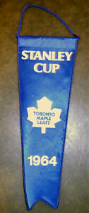 TORONTO MAPLE LEAFS REPLICA PENNANT 1964 STANLEY CUP CHAMPION