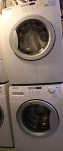 Samsung front load washer and dryer pair