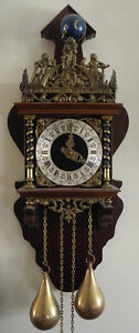 Collection of European wall clocks for sale
