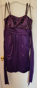Purple Grade 8/ Middle School Grad Dress Size S/P
