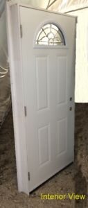 """Entry Door (36"""" x 80"""") with Full Frame and ½ Rnd. DL"""
