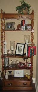 Vilas Display Unit - Solid Maple, Made in Canada