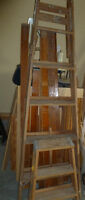 6ft. & step ladders