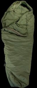 LOT-OF-2-GENUINE-MILITARY-MODULAR-MUMMY-U-S-G-I-PATROL-SLEEPING-BAG-O-D-GREEN