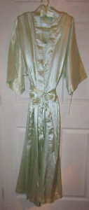 MINT GREEN Satin Robe, Chemise & Hanger Gift Set - LARGE