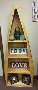 6' Solid Wood Boat Shelves